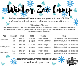 Winter Zoo Camp