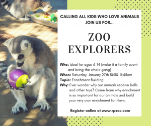 Zoo Explorers: How Zoo Animals Play