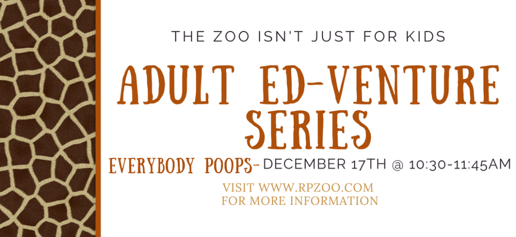 Adult Ed-Venture Series: Everybody Poops